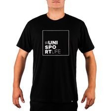 unisportlife roots t-shirt - sort - t-shirts