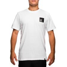 unisportlife roots t-shirt stamped - hvid - t-shirts