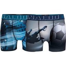 cr7 underwear underbukser 2-pack - blå/grå børn - undertøj