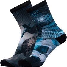 cr7 underwear sokker 2-pack - grå/blå børn - sokker