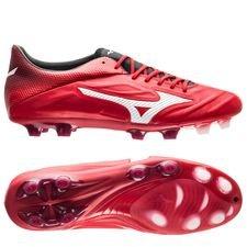 mizuno rebula ii v1 fg red passion pack - rød/hvid - fodboldstøvler