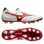 Mizuno Morelia II MD FG Red Passion Pack - Weiß/Rot