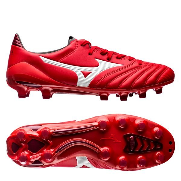 new style c42db 680f1 Mizuno Morelia Neo II MD FG Red Passion Pack - Red/White ...