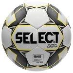 Select Fodbold Futsal Master Grain - Hvid/Gul/Sort
