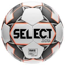 Select Ballon Futsal Master Shiny - Blanc/Orange/Noir