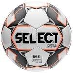 Select Ballon Futsal Master Shiny - Blanc/Orange/Noir