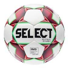 Select Fotboll Futsal Samba - Vit/Röd