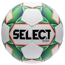 select ballon futsal attack grain - blanc/vert - ballon de foot