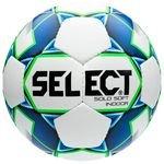 Select Fodbold Solo Soft Indoor - Hvid/Blå/Grøn