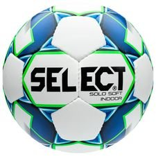 Select Football Solo Soft Indoor - White/Blue/Green