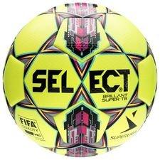 Select Fodbold Brillant Super TB Alka Superliga - Gul/Pink