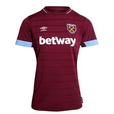 west ham united home shirt 2018/19 women - football shirts