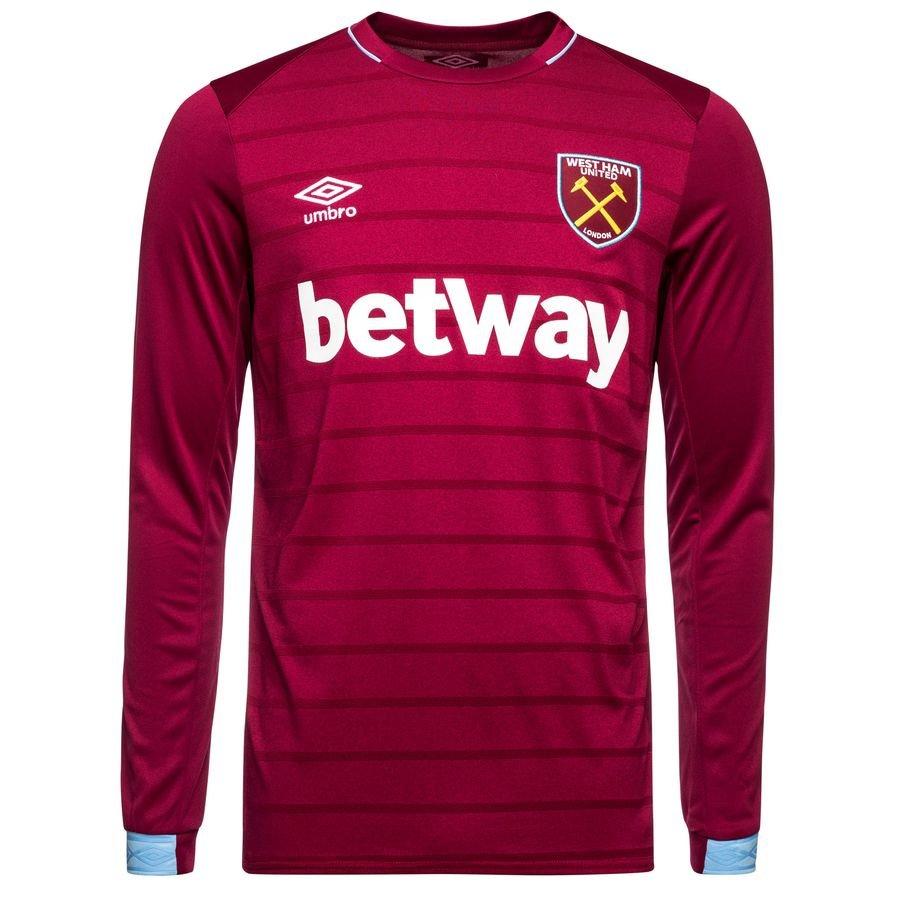 West Ham United Hjemmebanetrøje 2018/19 Langærmet