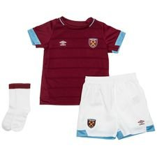 west ham united home shirt 2018/19 baby-kit kids - football shirts