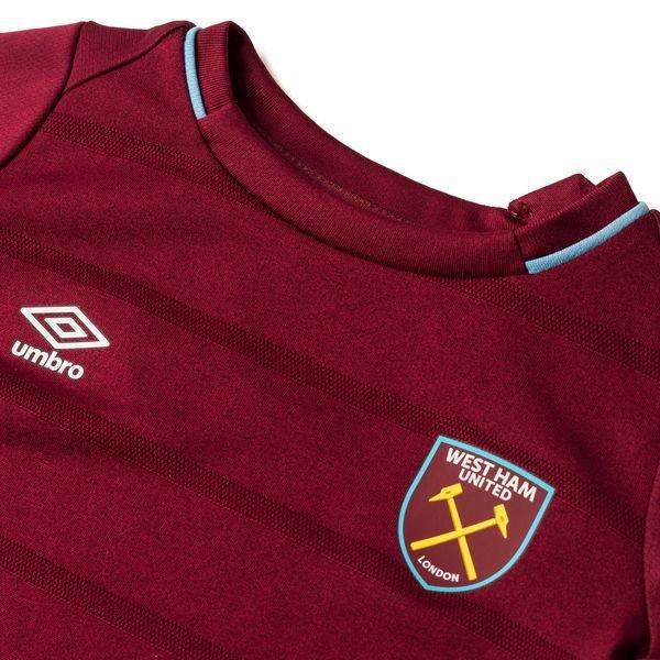 quality design 5e785 9f935 West Ham United Home Shirt 2018/19 Baby-Kit Kids | www ...