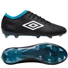umbro velocita iv pro fg - sort/hvid/blå - fodboldstøvler