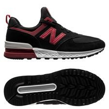 new balance liverpool 574 sport fresh foam - sort - sneakers