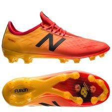 new balance furon 4.0 pro ag - rød/gul - fodboldstøvler