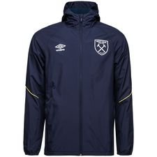West Ham Trainingsjas - Blauw/Wit