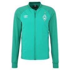 Werder Bremen Träningsjacka Walk Out - Grön Barn