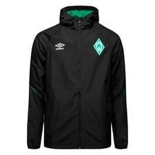 Image of   Werder Bremen Træningsjakke - Sort/Grøn
