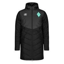 Werder Bremen Jacka Padded - Svart