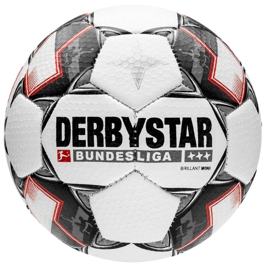 Derbystar Fodbold Brillant APS Mini Bundesliga 2018/19 - Hvid/Sort