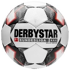 Derbystar Football Brillant APS Replica Bundesliga 2018/19 - White/Black