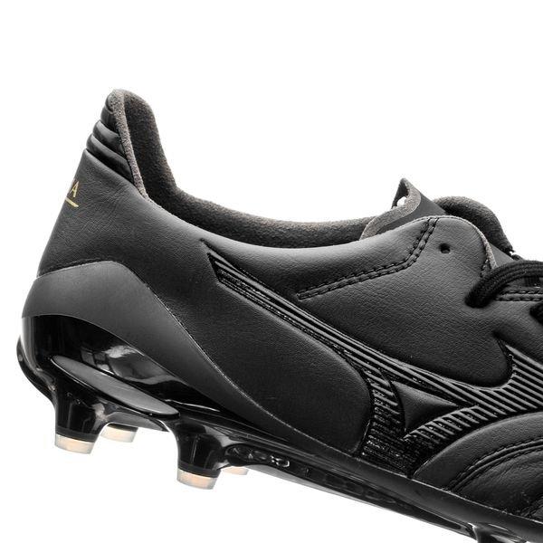 sale retailer 6b9b0 bcdcb Mizuno Morelia Neo II FG Blackout - Black/Black | www ...