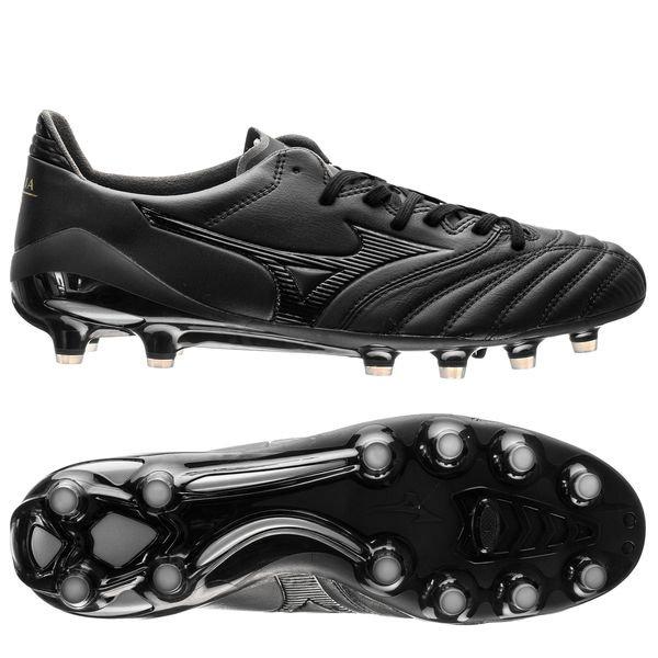 sale retailer 44d68 9d9a0 Mizuno Morelia Neo II FG Blackout - Black/Black | www ...