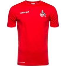 Image of   FC Köln Score Trænings T-Shirt - Rød/Hvid Børn
