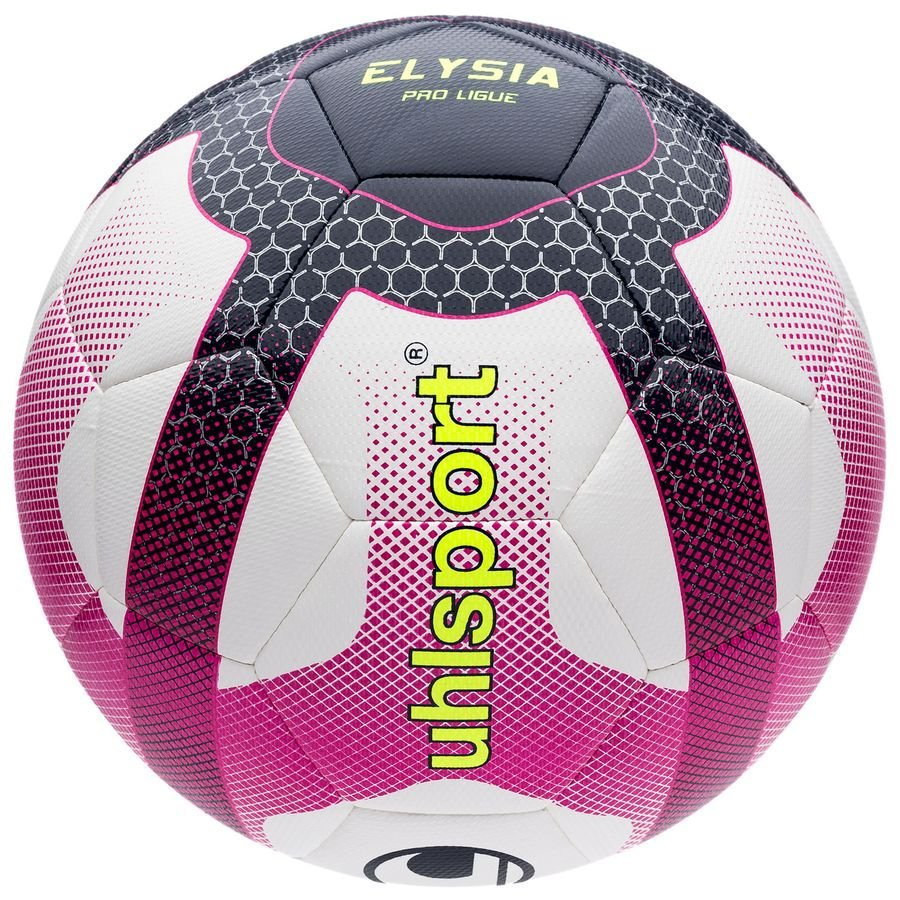 Uhlsport Ballon Elysia Ligue 1 2018/19 Pro - Blanc/Rose/Noir