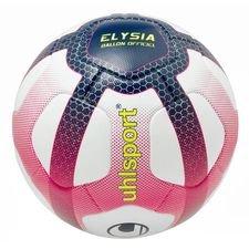 uhlsport fodbold elysia ligue 1 2018/19 kampbold - hvid/pink/sort - fodbolde