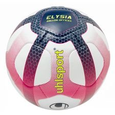 Uhlsport Fotboll Elysia Ligue 1 2018/19 Matchboll - Vit/Rosa/Svart