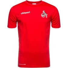 fc köln score trainingsshirt - rood/wit - trainingsshirts