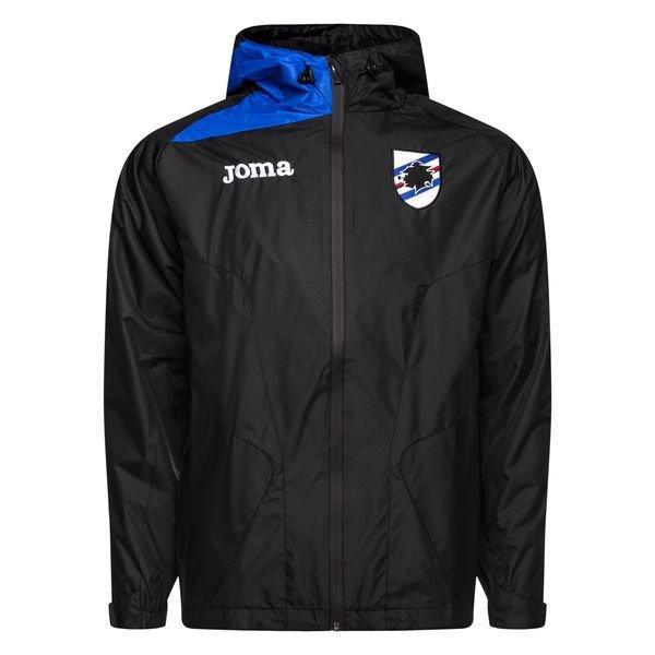 Sampdoria Genua Regenjacke Schwarz