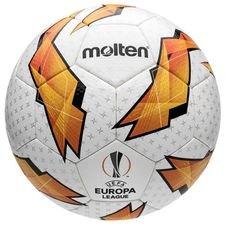 Molten Fußball Europa League 2018/19 Matchball - Weiß/Orange/Schwarz
