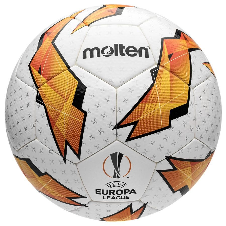 Molten Ballon Europa League 2018/19 Ballon de Match - Blanc/Orange/Noir