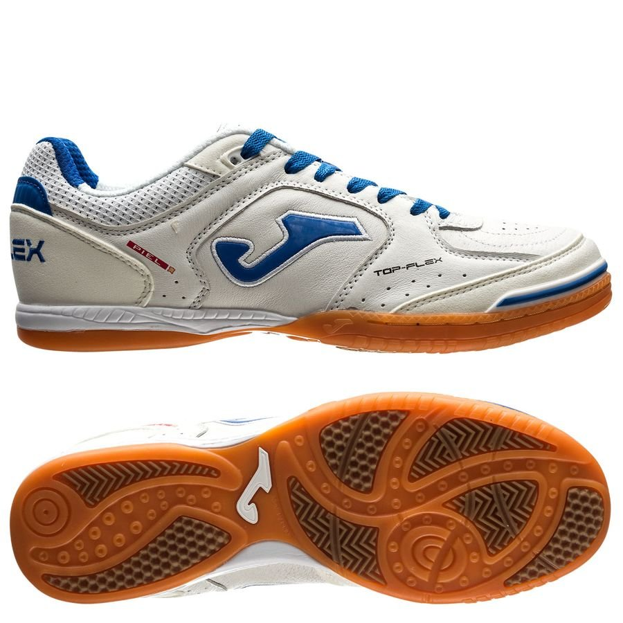 joma top flex in - white blue - indoor shoes ... e58852defc6a1