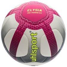 uhlsport fotboll elysia pro training 2.0 - vit/rosa/navy - fotbollar
