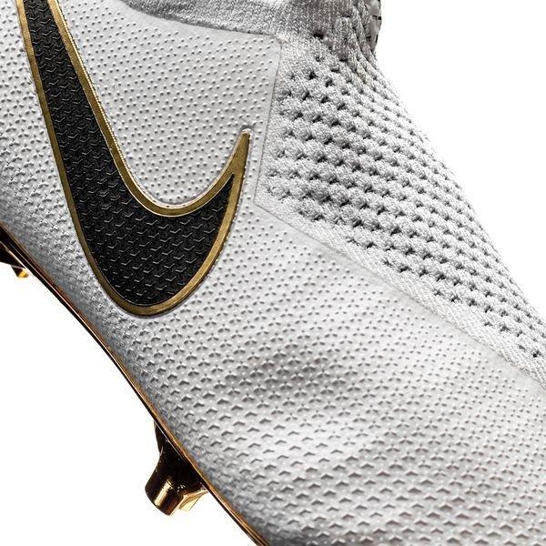 Nike Phantom Vision Gold Elite Df Fg White Black Limited Edition