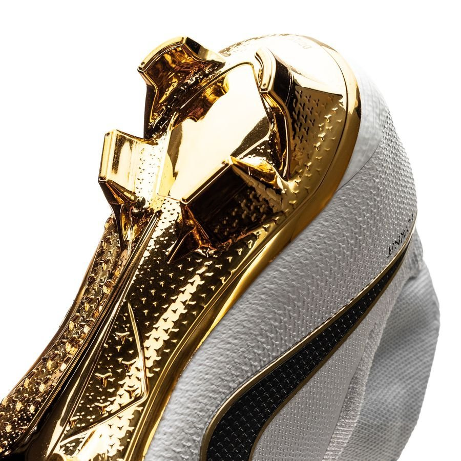 nike phantom vision gold elite △ df fg - white black limited edition -  football 2413cdf44