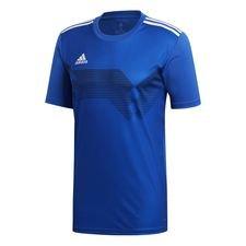 adidas spilletrøje campeon 19 - blå/hvid børn - t-shirts