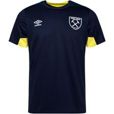 West Ham Tränings T-Shirt - Svart/Gul