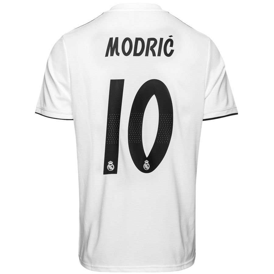 Maillot Domicile Real Madrid Modrić