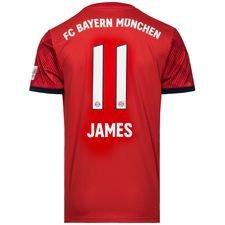 bayern münchen hjemmebanetrøje 2018/19 james 11 - fodboldtrøjer