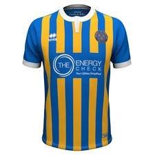 shrewsbury town f.c. hjemmebanetrøje 2018/19 - fodboldtrøjer