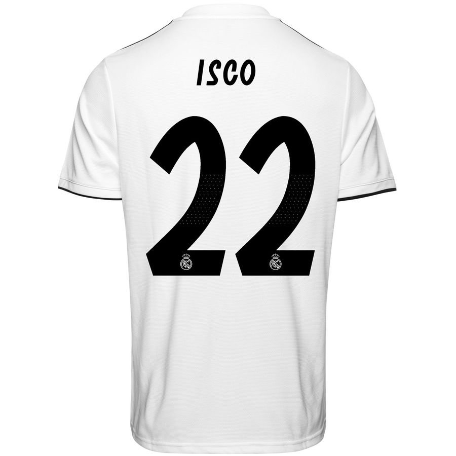 Real 19 22 Madrid Maillot Isco Domicile 2018