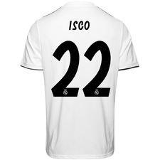 real madrid hjemmebanetrøje 2018/19 isco 22 - fodboldtrøjer