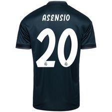 real madrid udebanetrøje 2018/19 asensio 20 - fodboldtrøjer